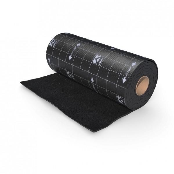 Wasserfeste Schürze 400 x 6000 mm (schwarz) Dachabdichtung