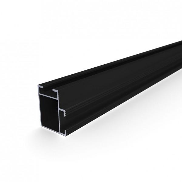 VS+ Montageschiene 41x35 mm Schwarz Zuschnitt