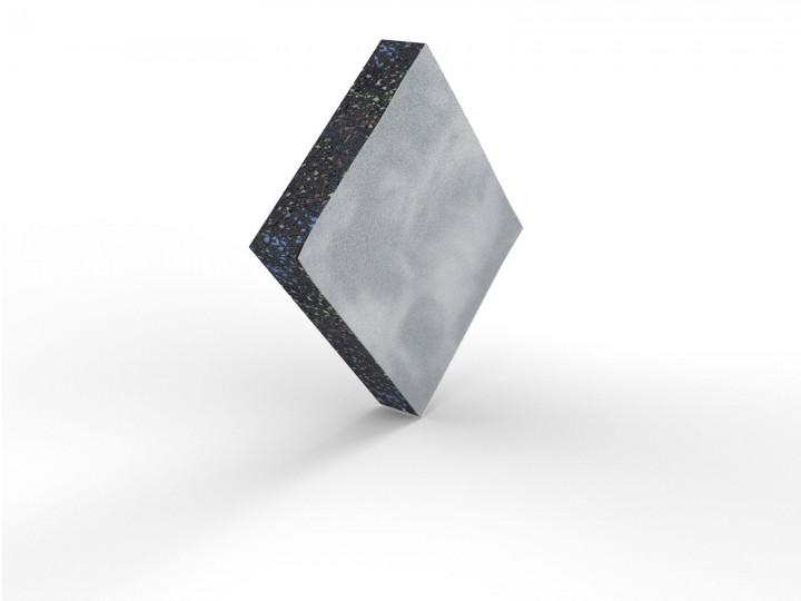 Bautenschutzmatte 110x95x20 mm Alu kaschiert