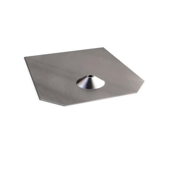 Solarbefestigerblech für Bitumenschindel 246x205 mm